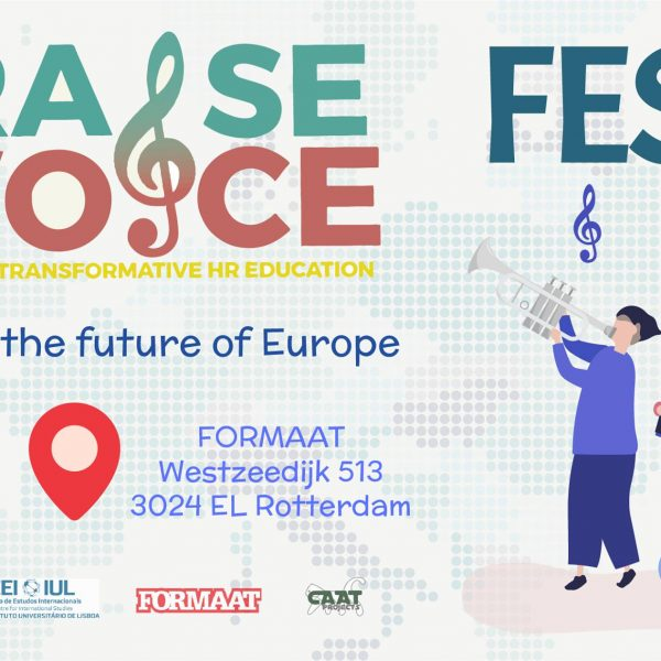 Raise your Voice Festival – building together the future of EU